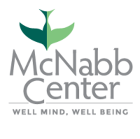 Mcnabb Center Logo portrait stacked mobile 3 color